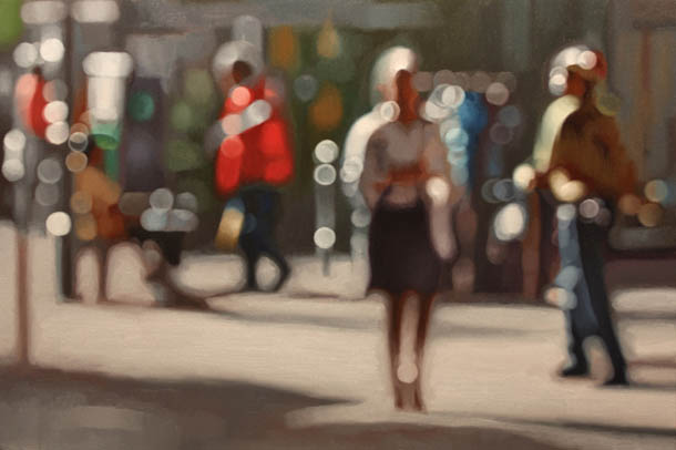 Luz na pintura de Philip Barlow