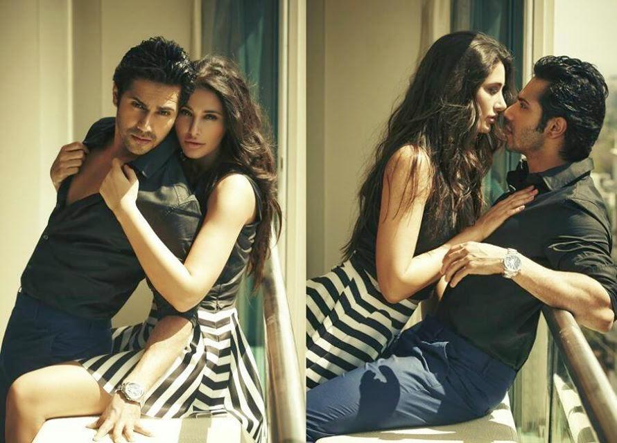 Nargis Fakhri and Varun Dhawan for Stardust hot photoshoot