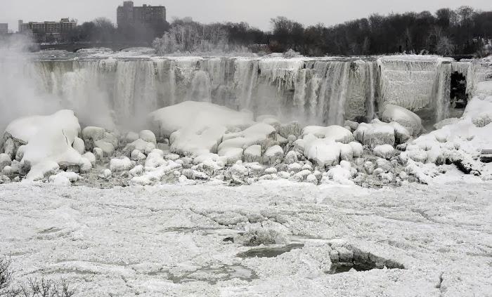 Air Terjun Niagara Membeku