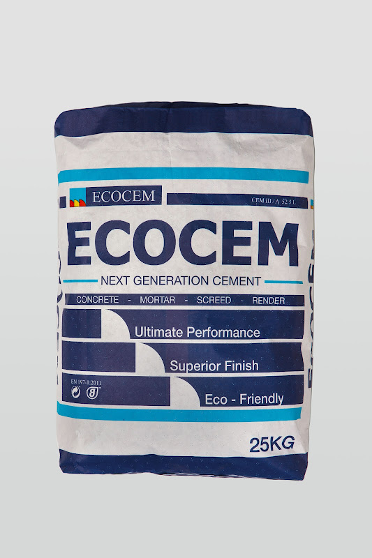 Ecocem Next Generation Bagged Cement - Branding and packaging design title=