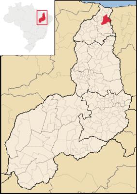 Localização de Cocal-PI