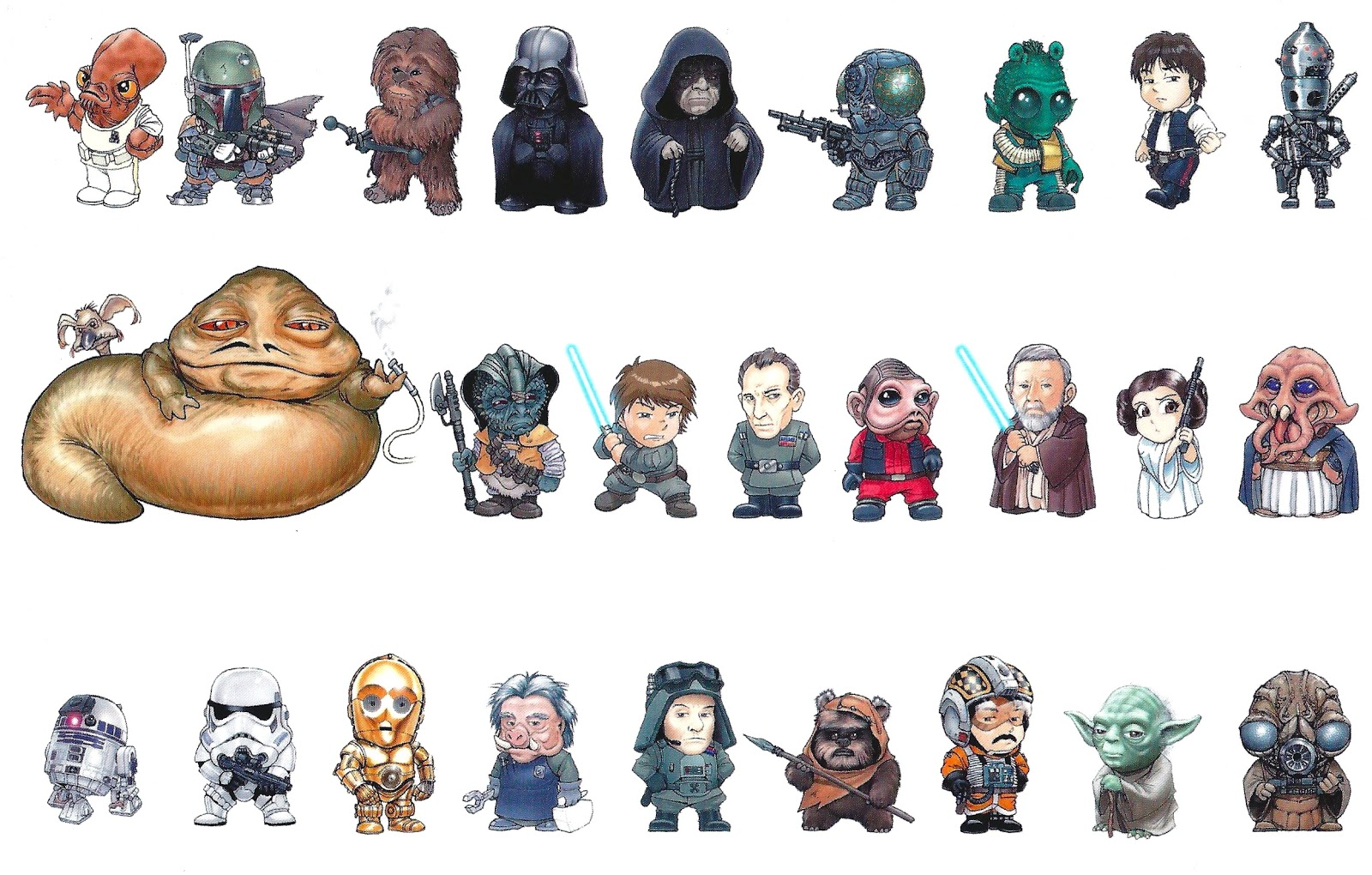 A Z Cartoon Characters : My favorite movies and stars cast of star wars characters