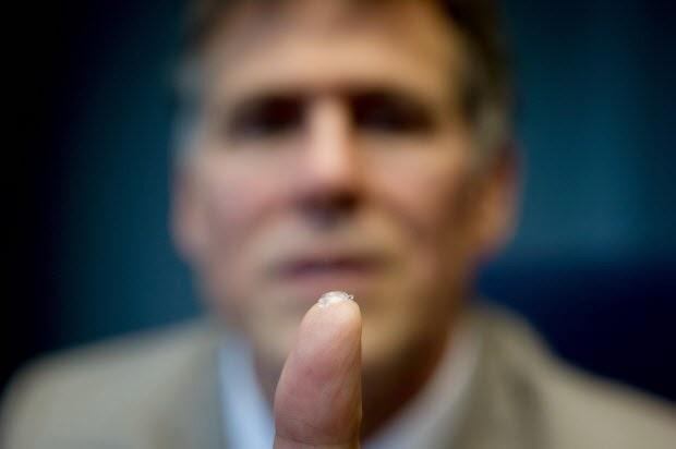 Ocumetics Bionic Lens, Technology to improve 20/20 vision eyes