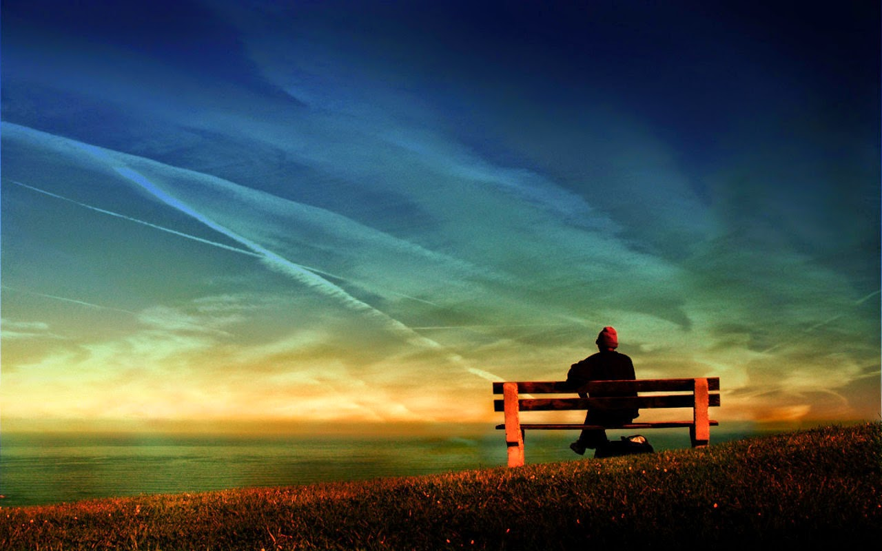 wallpapers waiting alone - photo #25