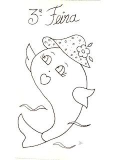 peixinha com chapeu
