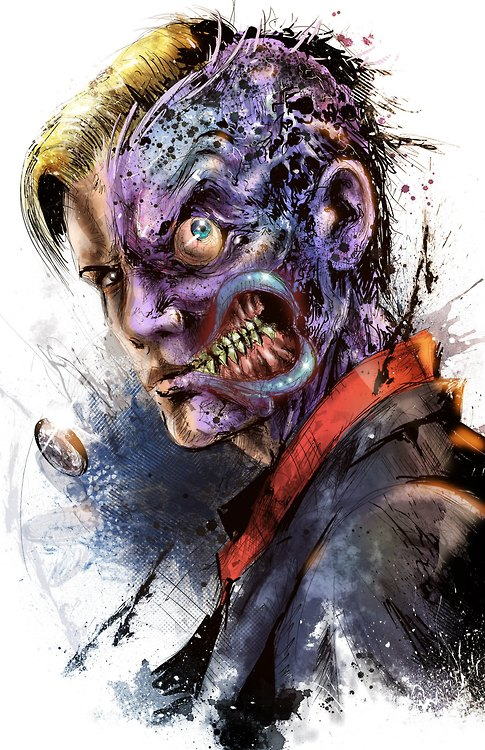 Two-Face (DC Comics) Character Review - Oh My God