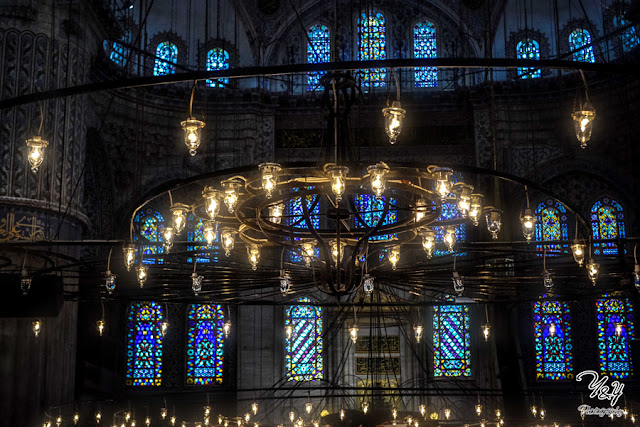 Lights - The Blue Mosque - Y&Y Photography