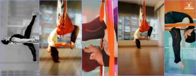 Con Rafael Martinez, yoga aereo aeroyoga® mexico df yoga swing, polanco, profesores, certificacion