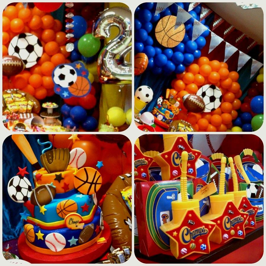 Alldesign eventos fiesta deportiva 1 cumplea os de for Decoracion deportiva