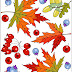 COLORING AUTUMN * COLORING PAGE