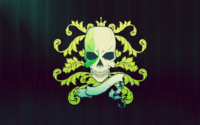 Cool green Sons of Anarchy style 1920 x 1280