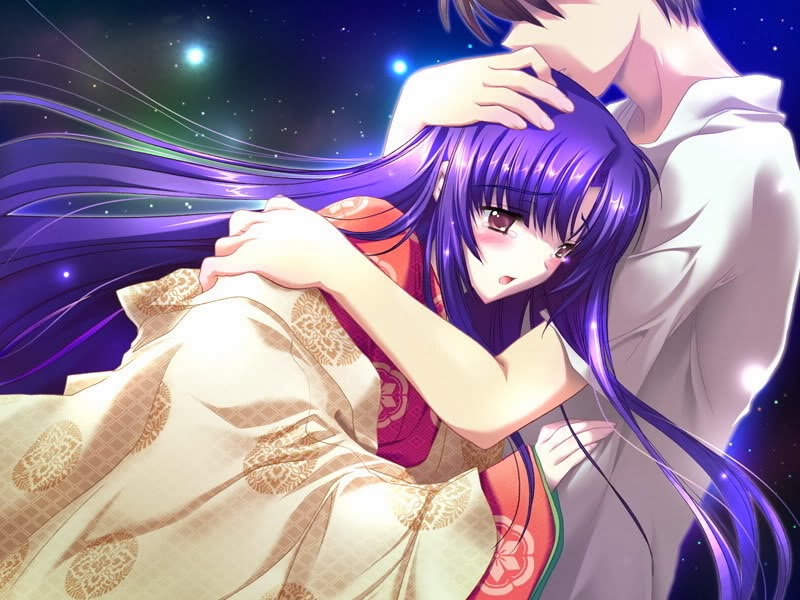Sweet Anime Love Hug And Special Moments