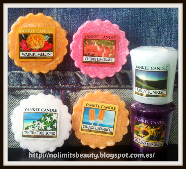 Yankee Candles Tartes: review