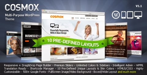 cosmox wordpress theme