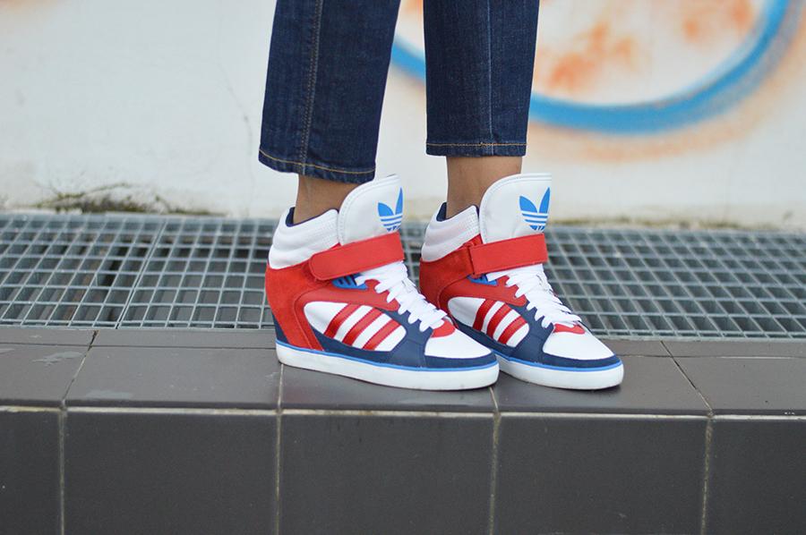 scarpe adidas donna con zeppa