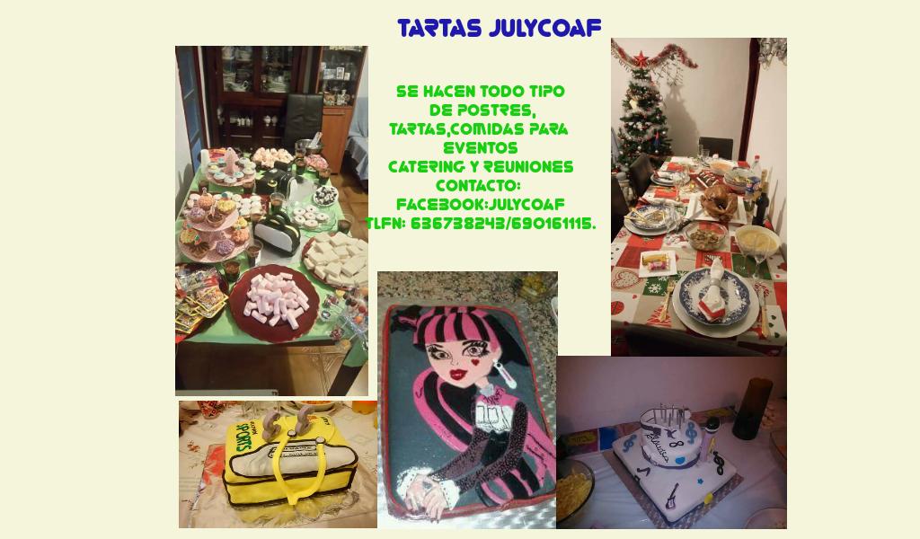 Tartas Julycoaf
