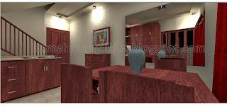 ruang makan mungil minimalis