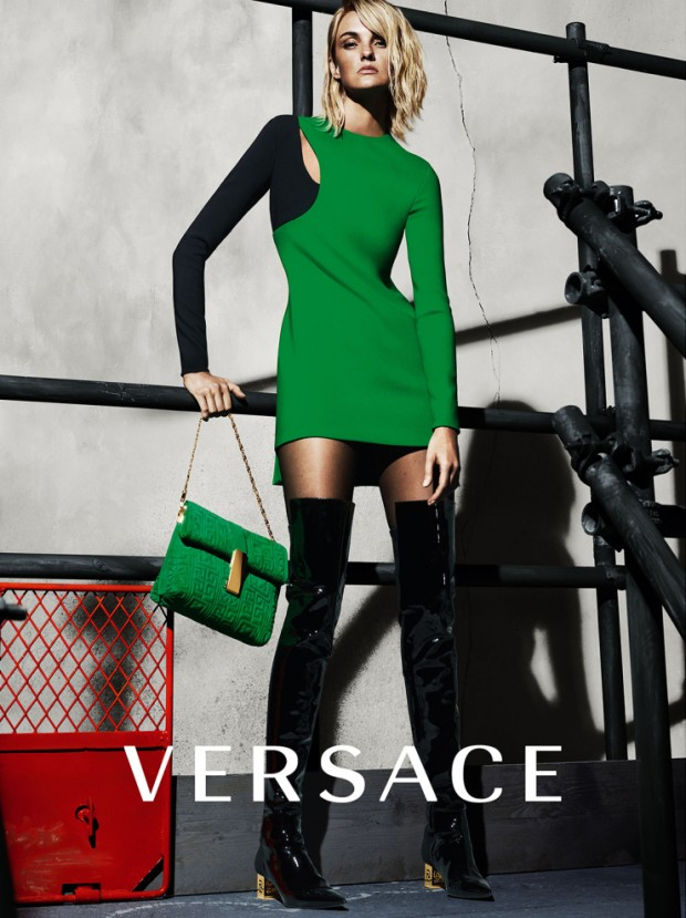 Caroline Trentini by Mert Alas & Marcus Piggott for Versace Fall-Winter 2015-2016 | Ses Rêveries