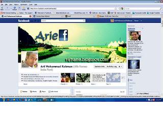 """Tampilan """"timeline"""" baru di Facebook"""