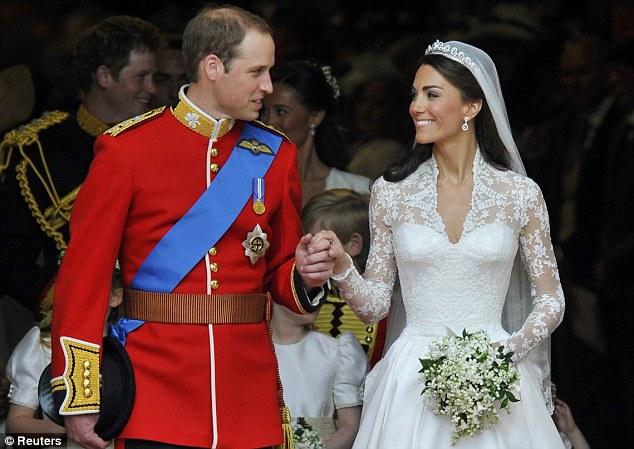 Pernikahan Kate Middleton dan Pangeran William