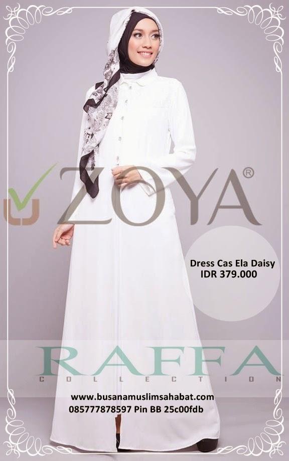 Busana Muslim Zoya Terbaru 2015 Dress Gamis Inner Katalog