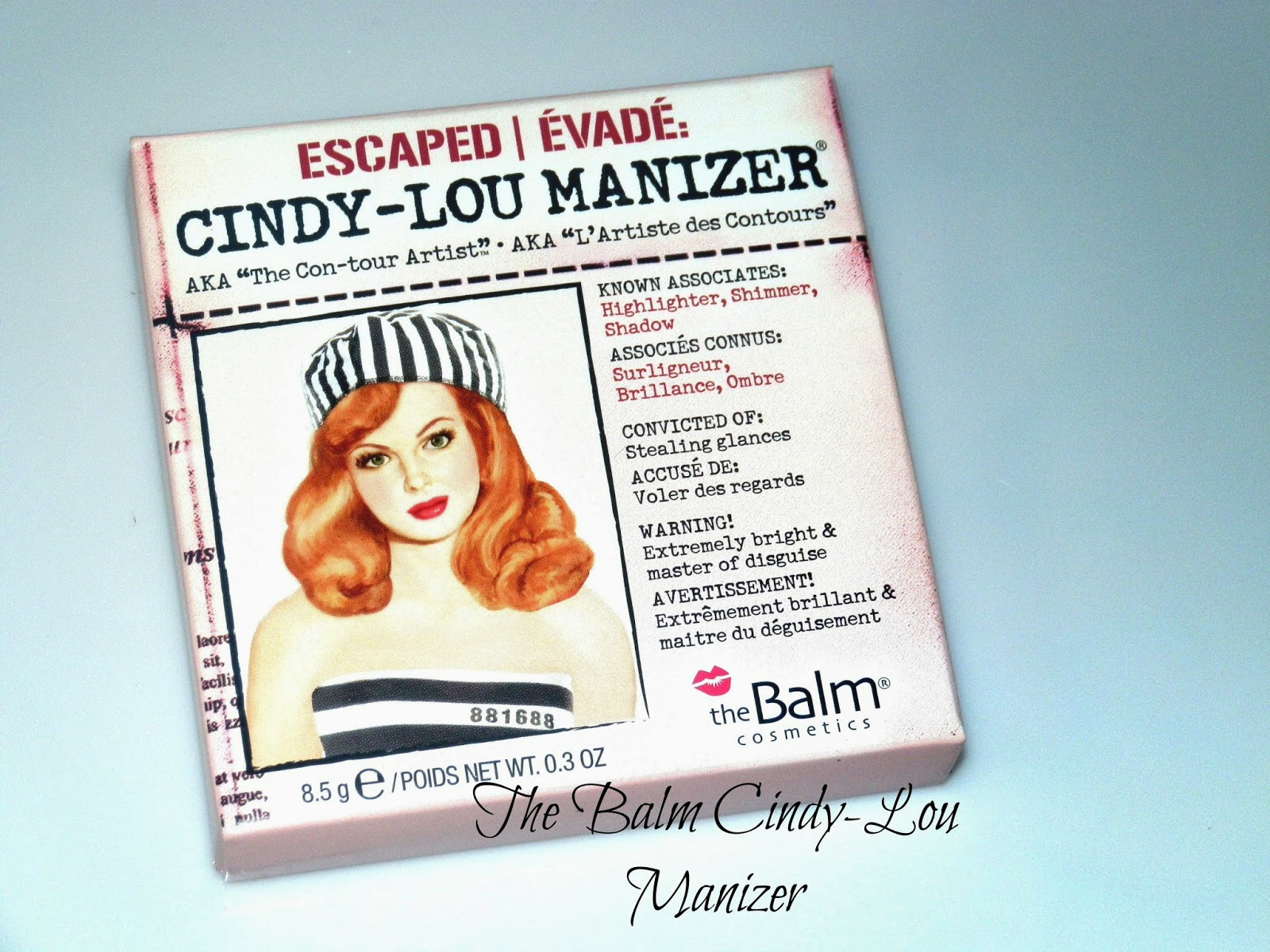 The Balm Cindy-Lou Manizer Swatches