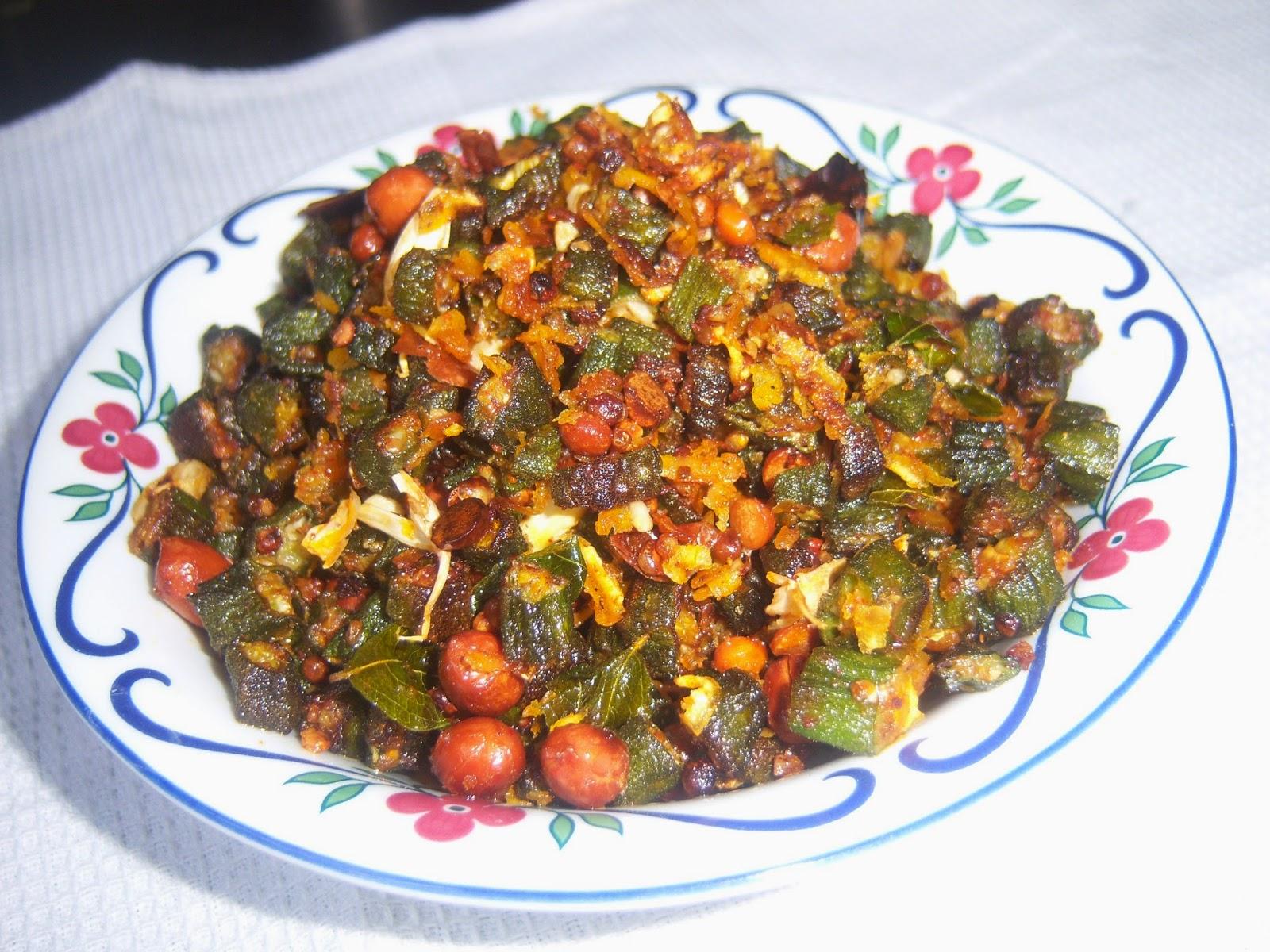 Bhindi Stir Fry