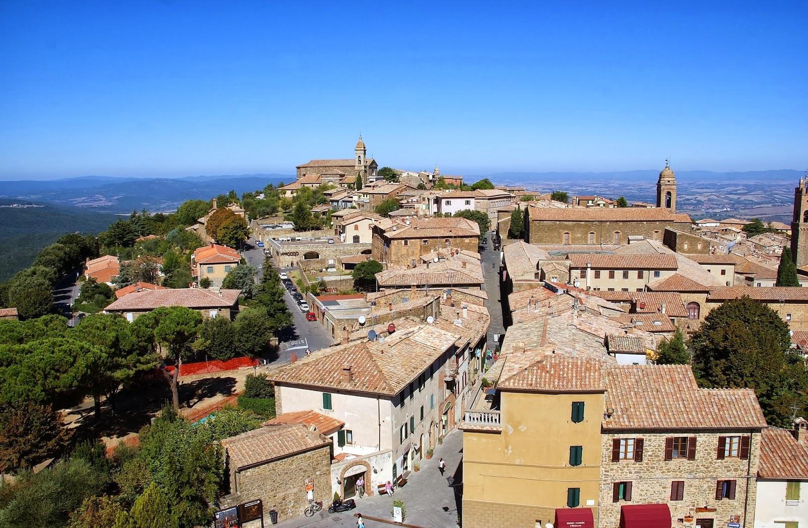 Montalcino, Toskania, Włochy