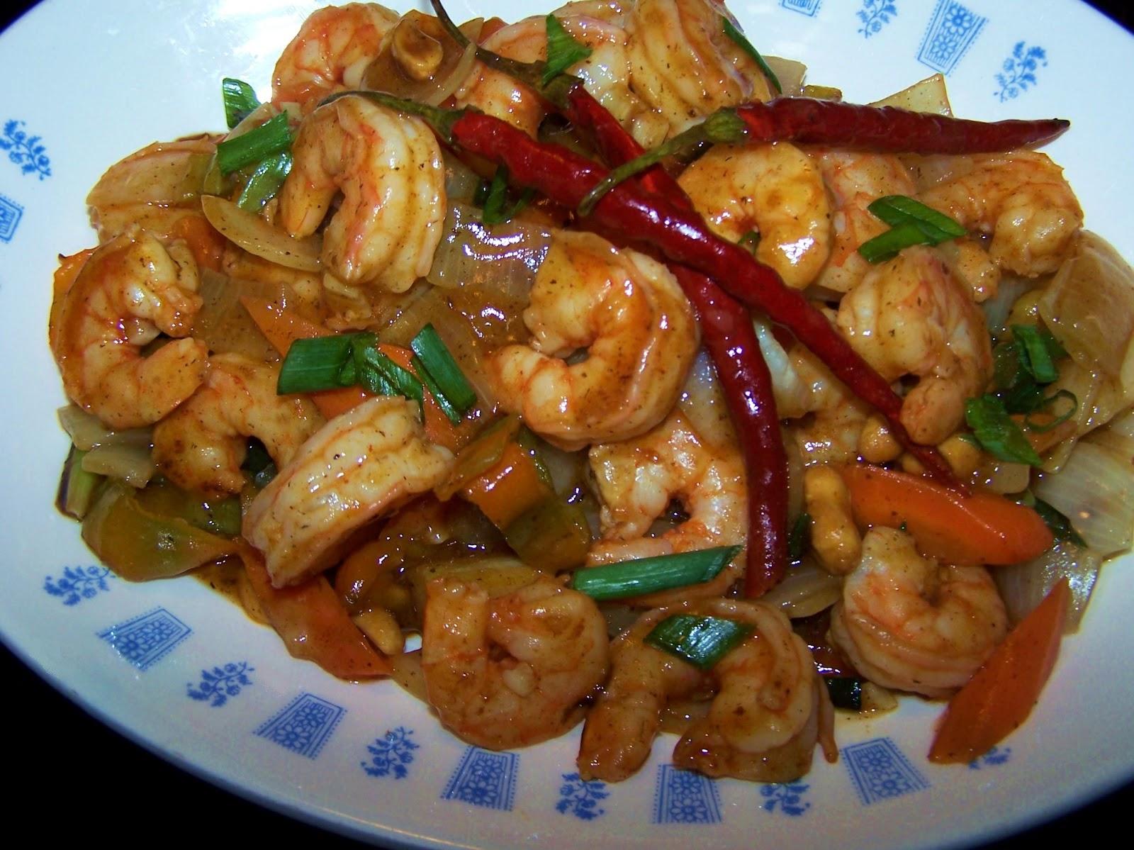 EZ Gluten Free: Kung Pao Shrimp - PF Chang's Copycat