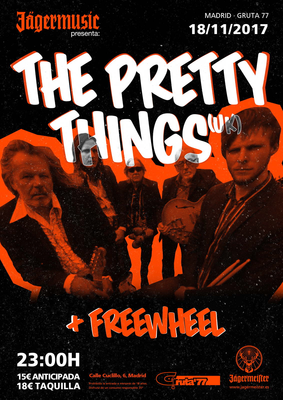 The Pretty Things - 18/11/2017 - Gruta'77