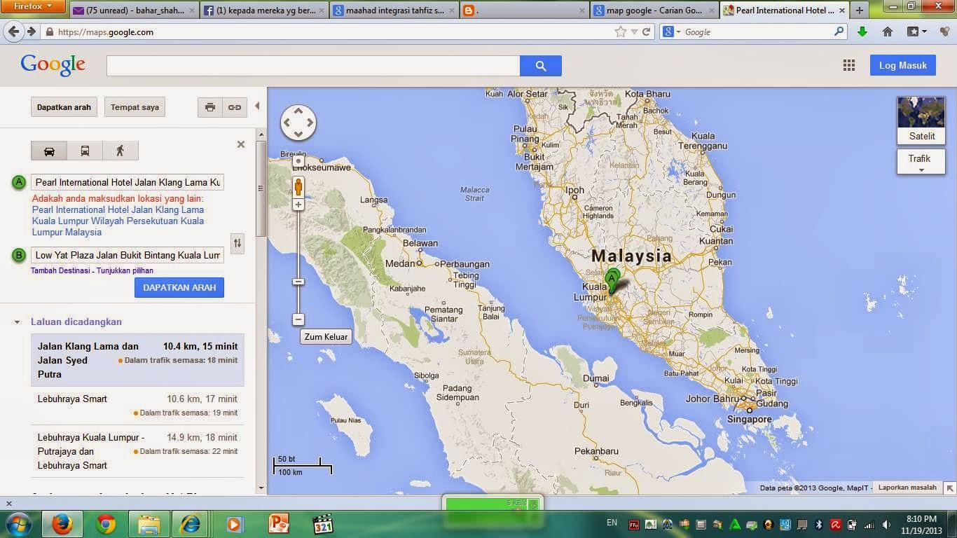 JELAJAH DUNIA google maps
