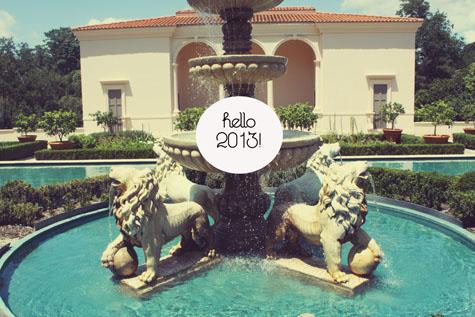 Hello 2013!