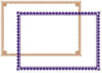 Download Bingkai / Border / Frame Sertifikat atau Piagam Juli 2011