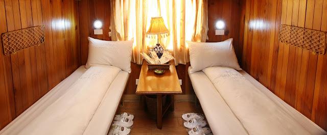 Buồng Vip Tàu sapaly train