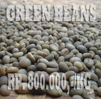 greans beans biji kopi hijau,jual kopi luwak green beans