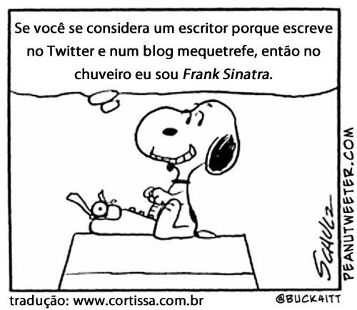 Tweets em tirinhas do Peanuts