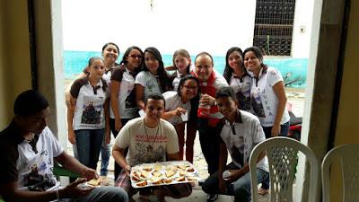 Visita Fraterna na Fraternidade Coração Eucarístico de Jesus na cidade de Marco – CE