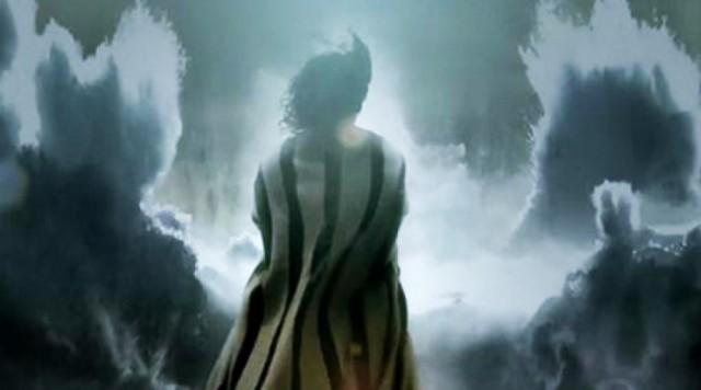 Moisés abre o Mar Vermelho Os Dez Mandamentos