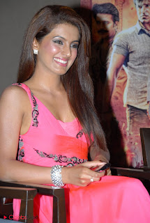 Geeta Basra Latest  Pictures in Pink Dress at Zilla Ghaziabad Audio Release Function  0003