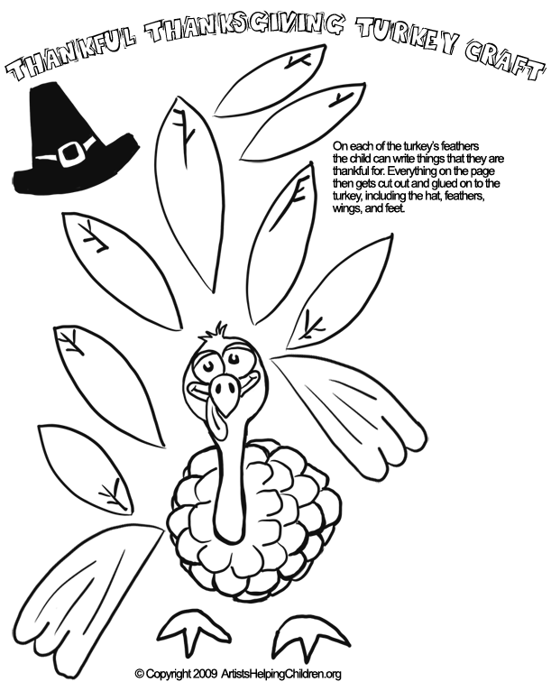 thanksgiving day activities for kindergarten