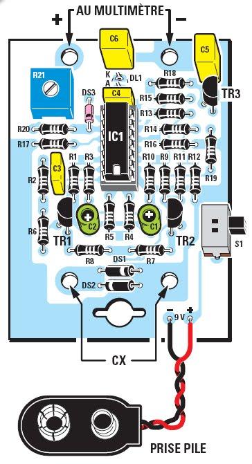 Un resm tre ou comment mesurer la r sistance equivalente for Controler un condensateur avec un multimetre