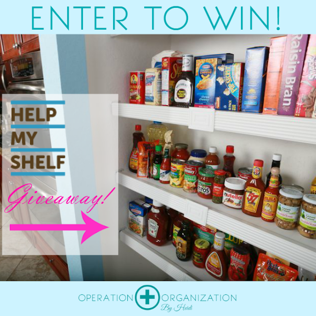 Peachtree City Professional Organizer giving away Help My Shelf Product