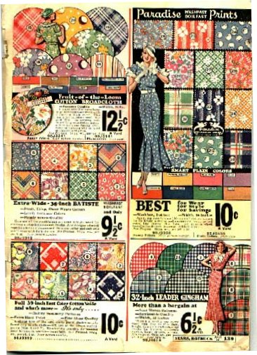 1944 Sears and Roebuck Catalog http://grandmasatticquilting.blogspot.com/