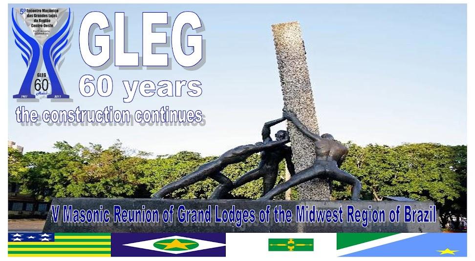 60 Anniversary of the Masonic Grand Lodge of the State of Goias (GLEG)