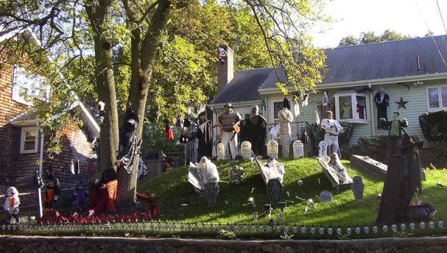 Las mejores decoraciones de jard n para halloween rinc n abstracto for Jardin halloween