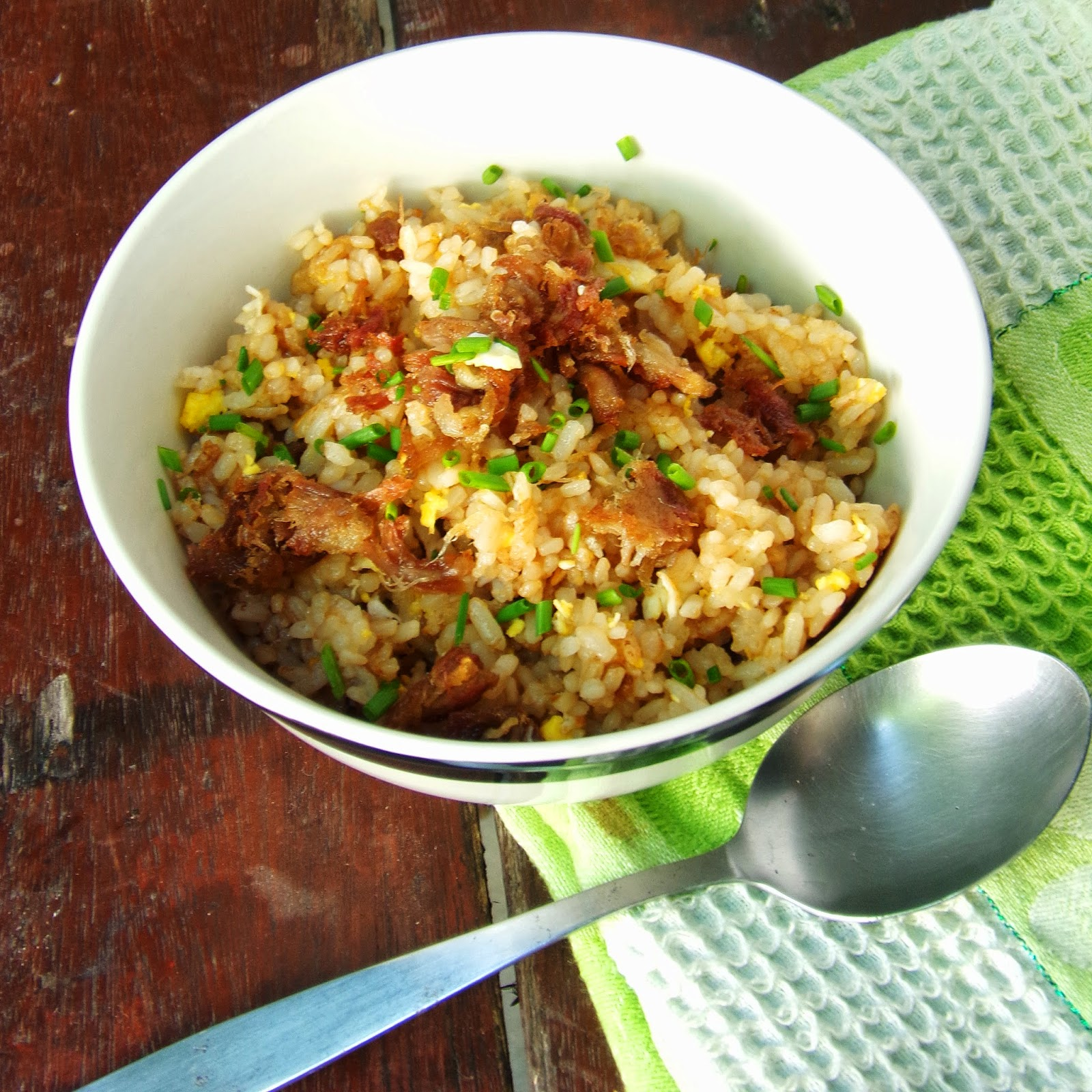 fried rice recipes, simple fried rice, recipe fried rice, pork fried rice