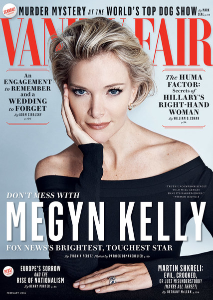 Journalist, News Anchor, @ Megyn Kelly - Patrick Demarchelier for Vanity Fair February 2016