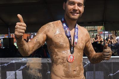 Spartan Race. Tras finalizar la carrera
