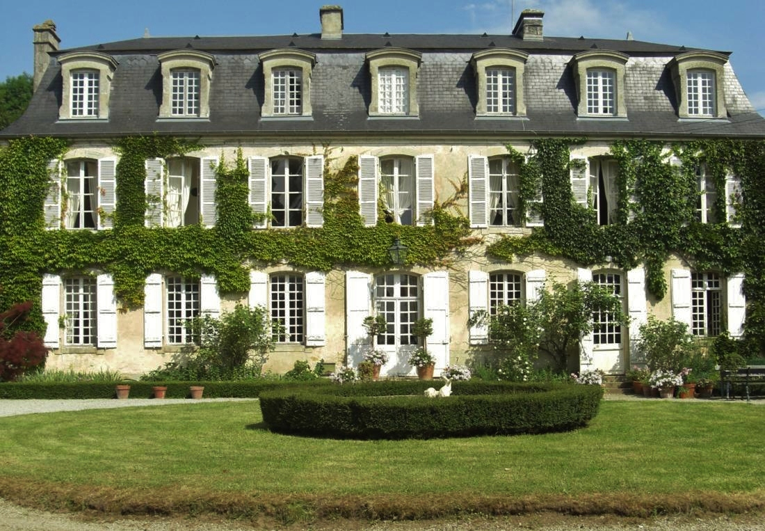 Lamb blonde a french chateau for French chateau style