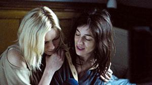 Kirsten Dunst y Charlotte Gainsbourg en Melancolía